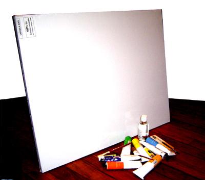 Toile et peinture à l'huile
