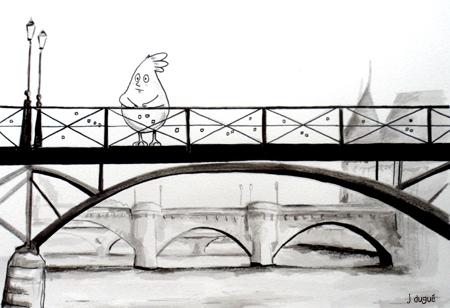 poussin pont des arts